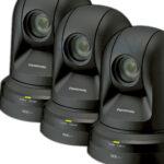 3x Panasonic AW-HN38HWE PTZ Camera